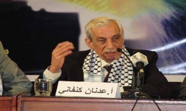 رحيل الكاتب الفلسطيني عدنان كنفاني
