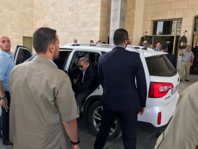 الوفد المصري يغادر غزة