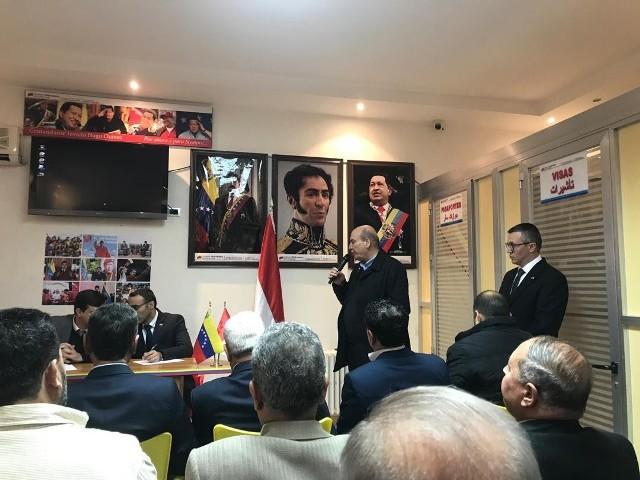 الجبهة الشعبية لتحرير فلسطين تشارك في لقاء تضامني مع فنزويلا
