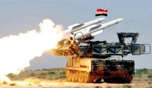 الدفاع الجوي السوري يتصدى لعدوان صهيوني في الجنوب