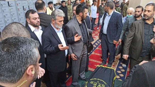 شلح يوارى الثرى في مقبرة الشهداء بسوريا إلى جوار رفيق دربه فتحي الشقاقي