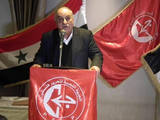 الشعبية في دمشق تحيي ذكرى انطلاقتها الـ 51