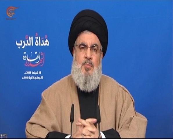 نصر الله: مؤتمر وارسو هدفه محاربة إيران ومحور المقاومة