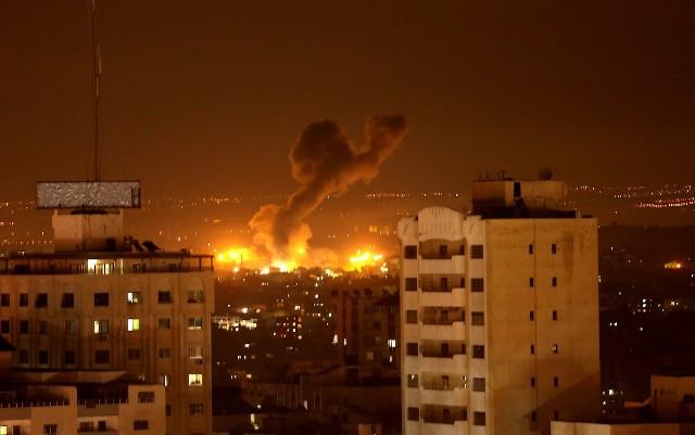 طائرات الاحتلال تشن سلسلة غارات على قطاع غزة