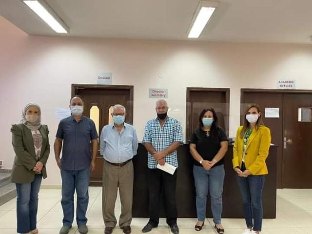 اتفاقية لتقديم حسومات للطلاب الفلسطينين بلبنان في جامعة الجنان بصيدا