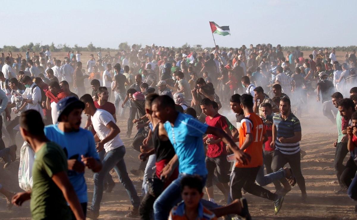 184 شهيدًا وأكثر من 20 ألف إصابة منذ بدء مسيرات العودة