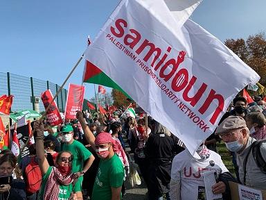 الشعبية بالسجون: نساند شبكة صامدون وقرار الاحتلال الصهيوني لن يزيدها إلّا قوّة
