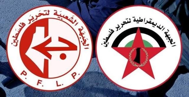 الجبهتان الشعبية والديمقراطية تدعوان لمجابهة سياسات الضم بالوحدة الوطنية وإلغاء أوسلو