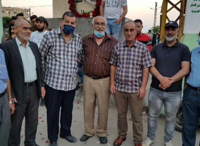 الجبهة الشعبية لتحرير فلسطين تشارك فصائل المقاومة بزبارة أضرحة الشهداء في نهر البارد