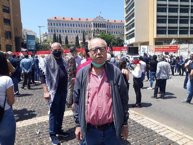 اللجان العمالية الشعبية الفلسطينية في منطقة صيدا تقيم لقاءً نقابيًّا افتراضيًّا بمناسبة عيد العمال