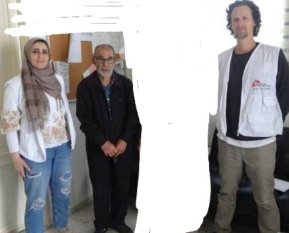 اللجان العمالية الشعبية الفلسطينية تزور مركز منظمة أطباء بلا حدود في مخيم عين الحلوة