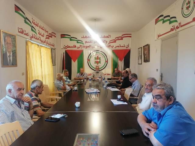 الشعبية في صيدا تلتقي الأمين العام لعمال فلسطين