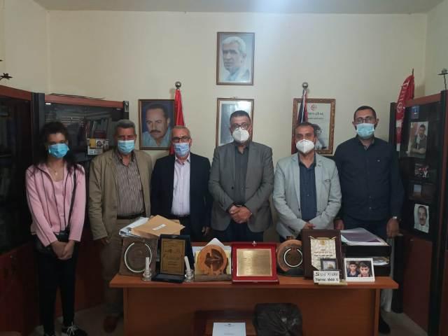عبد العال يلتقي الهيئة الإدارية الجديدة لمركز الخيام لتأهيل ضحايا التعذيب