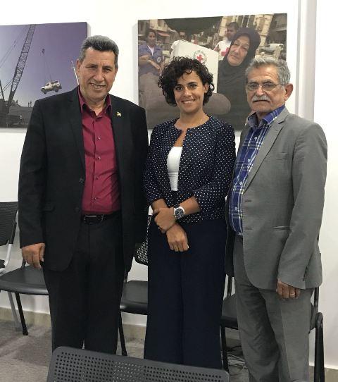 لجنة الأسرى والمحررين للجبهة تلتقي اللجنة الدولية للصليب الأحمر