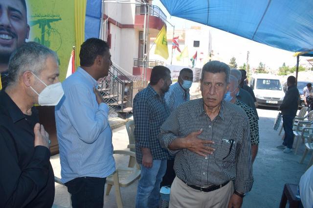 فصائل منظمة التحرير الفلسطينية تعزي بالشهيد طحان في عدلون