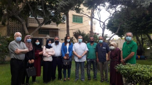 البزري يلتقي وفد الائتلاف اللبناني الفلسطيني لحق العمل