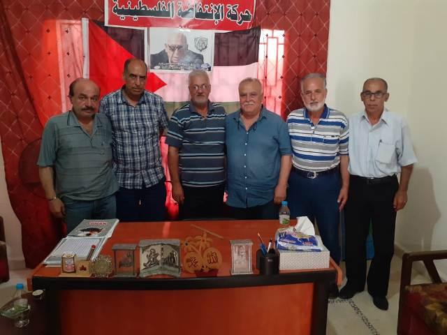 الشعبية في صيدا تزور حركة الانتفاضة الفلسطينية