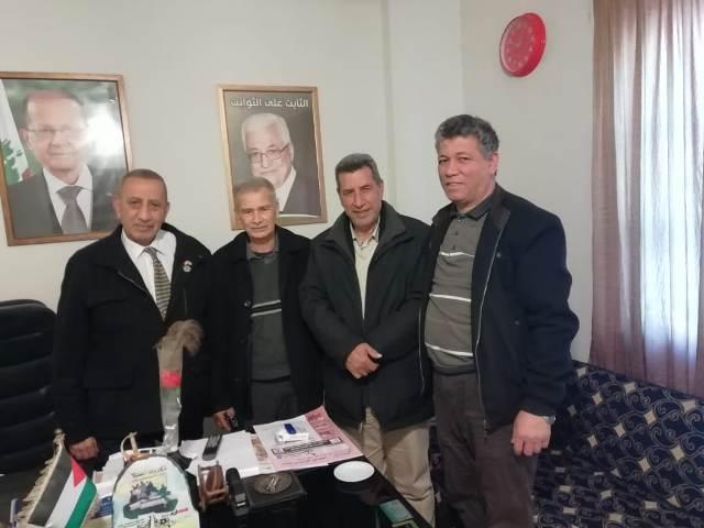 مسؤول العمل النقابي والجماهيري في لبنان زار مقر اتحاد نقابات العمال