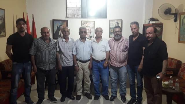 الكتل العمالية لفصائل منظمة التحرير الفلسطينية في منطقة صيدا ترفض قرارات وزير العمل المجحفة وتدينها