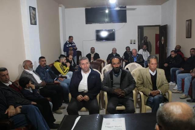 اللجان العمالية الشعبية الفلسطينية في صيدا تعقد لقاءً نقابيًّا تشاوريًّا