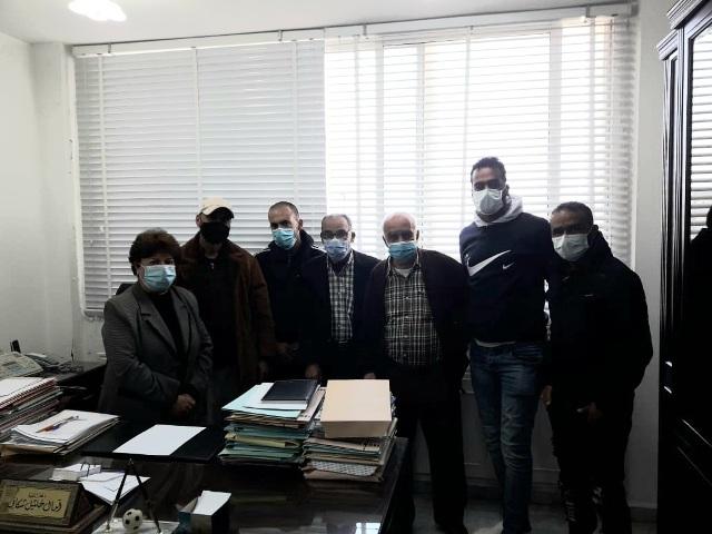 اتحاد نقابات عمال فلسطين فرع لبنان يتابع موضوع عمال معمل فرز النفايات في منطقة صيدا