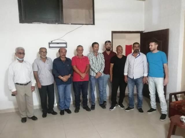 اللجان العمالية الشعبية الفلسطينية تلتقي كتلة عمال حزب فدا