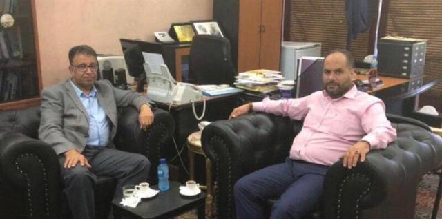 رئيس مركز باحث يستقبل مسؤول الشعبية في لبنان