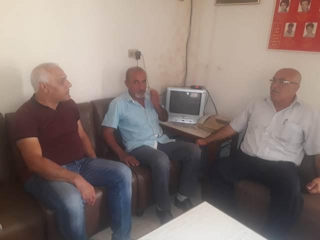 الجبهة الشعبية لتحرير فلسطين تلتقي الحزب الديمقراطي الشعبي