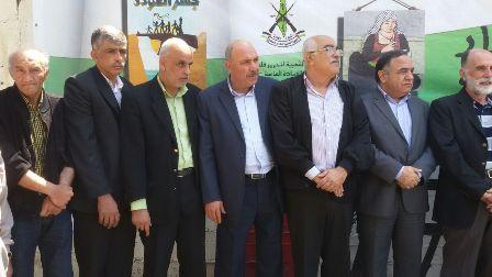 الجبهة الشعبية القيادة العامة تحيي ذكرى النكبة بمعرض للصور .