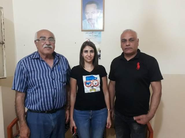 الجبهة الشعبية تلتقي الحزب الديمقراطي اللبناني