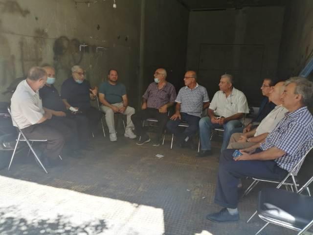 الحملة الأهلية لنصرة فلسطين وقضايا الأمة تعقد اجتماعها الدوري
