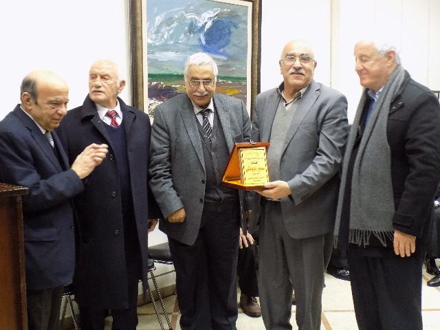 المنتدى القومي العربي كرّم أبو جابر بمناسبة مئوية الراحل جمال عبد الناصر