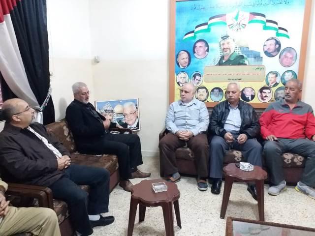 الشعبية في صيدا تلتقي أمين سر فصائل منظمة التحرير الفلسطينية العميد ماهر شبايطة