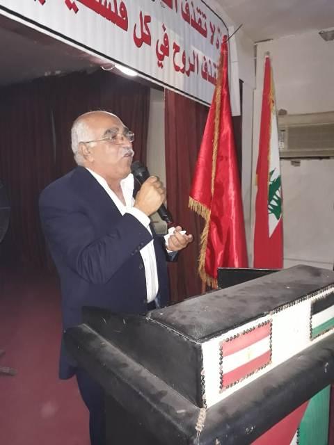 أبوجابر خلال إفطار البرج: يجب رصّ الصّفوف في مواجهة كافة المشاريع المشبوهة التي تستهدف القضية الفلسطينية
