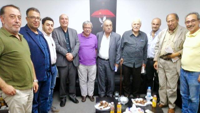 لقاء سياسي بين الجبهة الشعبية لتحرير فلسطين والحزب الشيوعي اللبناني