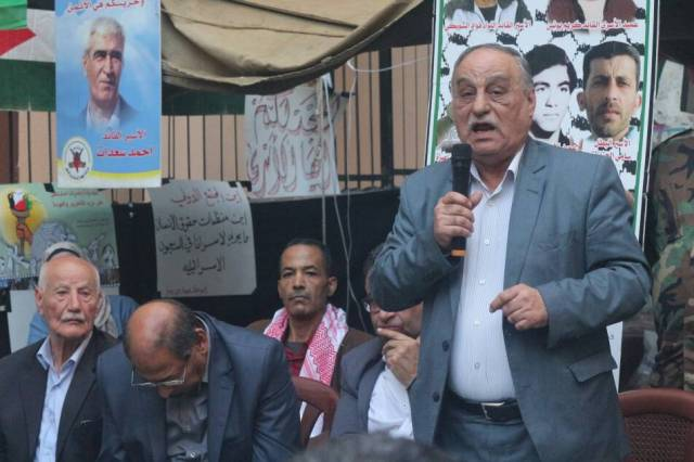 كلمة الرفيق أبو أحمد فؤاد نائب الأمين العام للجبهة الشعبية لتحرير فلسطين من خيمة التضامن في مخيم شاتيلا