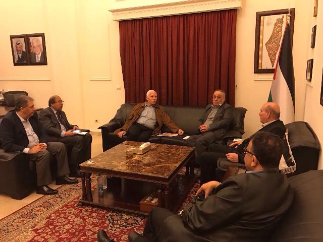 لقاء بين فتح والجبهة الشعبية في بيروت