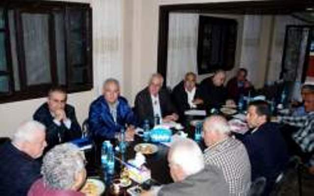 اجتماع لفصائل منظمة التحرير الفلسطينية في صيدا