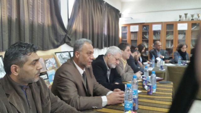 اللجنة الشعبية في مخيم عين الحلوة تلتقي بالمفوض العام للأونروا