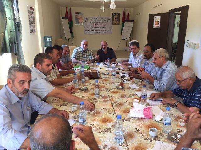 فصائل العمل الوطني في منظمة التحرير وقوى التحالف عقد اجتماعًا في عين الحلوة
