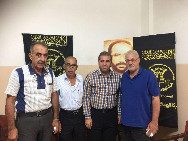 الشعبية في مخيم عين الحلوة تلتقي حركة الجهاد الإسلامي