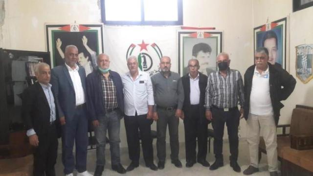 الجبهة الشعبية لتحرير فلسطين في منطقة صيدا  تلتقي جبهة التحرير الفلسطينية