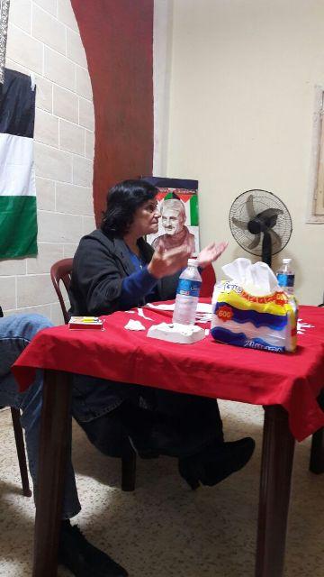 لجان المرأة الشعبية في بيروت تقيم ندوة سياسية