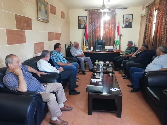 الشعبية في لبنان تلتقي قائد الأمن الوطني الفلسطيني