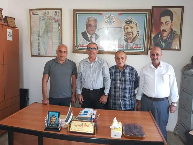 الجبهة الشعبية لتحرير فلسطين تلتقي امين سر حركة فتح ومنظمة التحرير الفلسطينية في الشمال