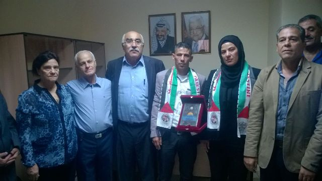 لجنة المتابعة المركزية تكرم الشهيد القائد أبو عماد الجنداوي