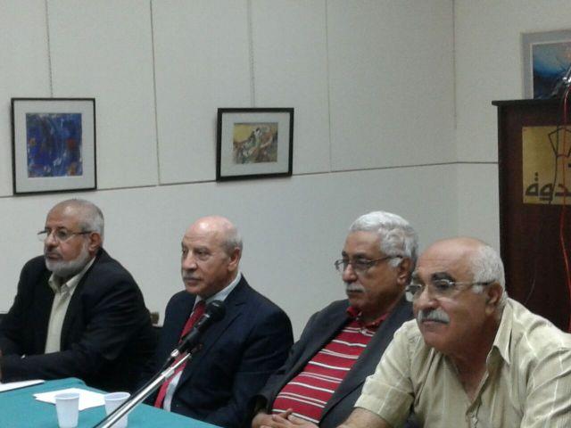 لقاء تضامني مع الأمين العام لحركة الجهاد الإسلامي في دار الندوة