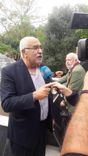 الجبهة الشعبية لتحرير فلسطين تشارك  بالذكرى السنوية لرحيل الرمز أبو عمار