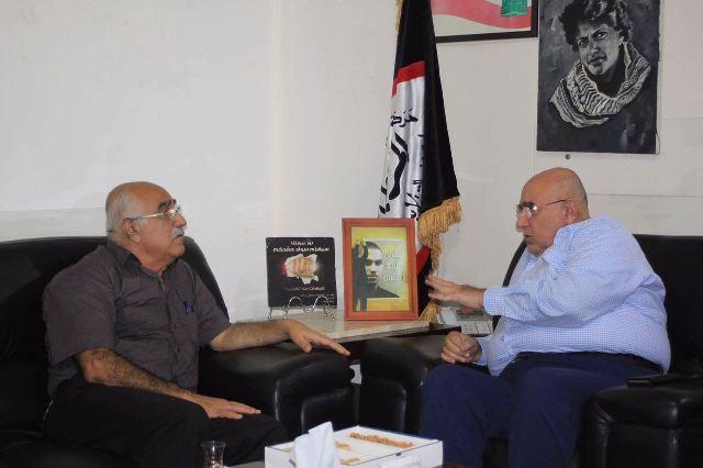 الشعبية في لبنان تلتقي أمين الهيئة القيادية في حركة الناصريين المستقلين