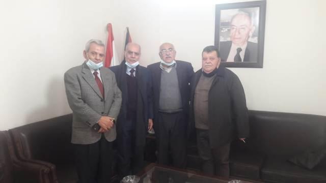 الجبهة الشعبية لتحرير فلسطين تلتقي حزب الطليعة